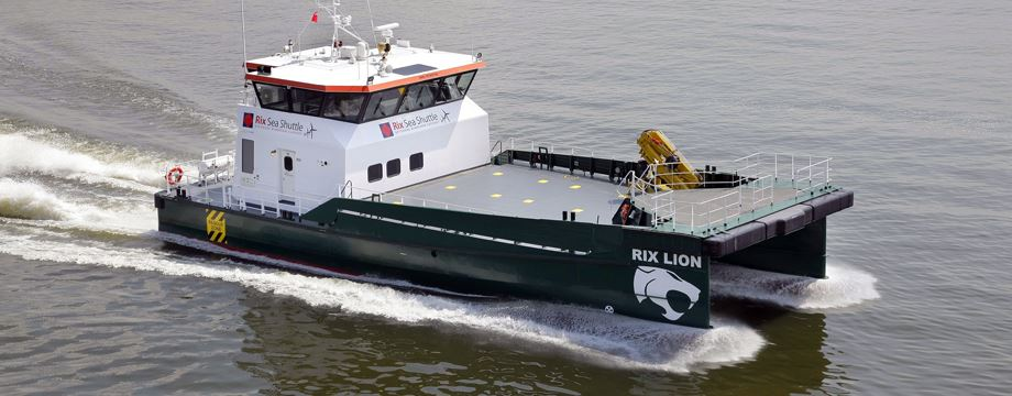 A choice of Offshore Support Vessels from 18m to 26m
