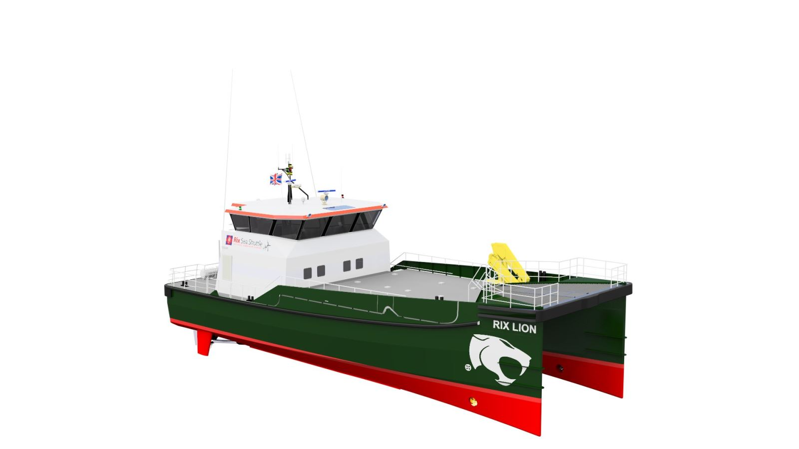 Rix Lion offshire shigh speed support vessel