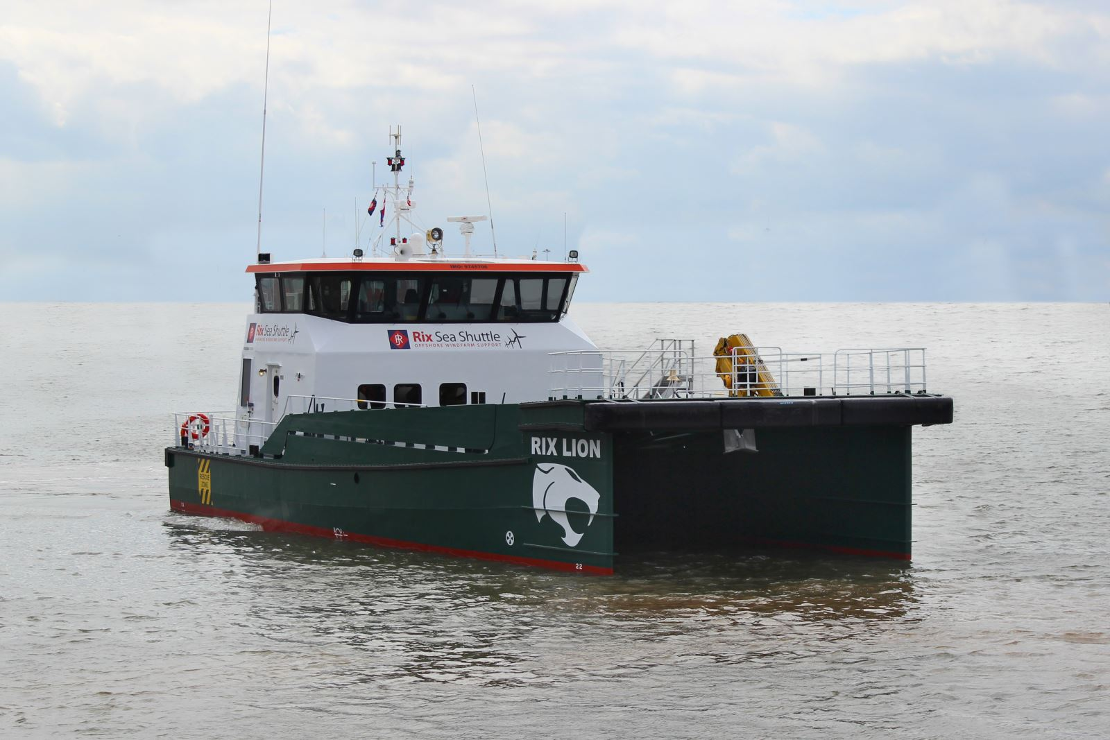 Rix Lion crew transfer vessel