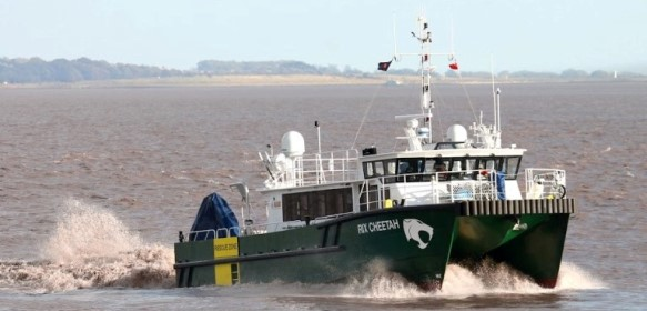 Rix Sea shuttle wind farm workboat